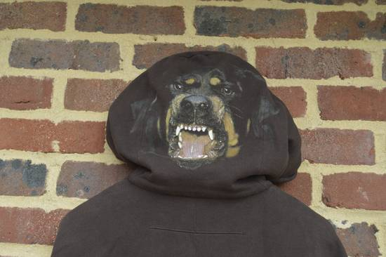 Givenchy Brown Rottweiler Print Hoodie Size US S / EU 44-46 / 1 - 7