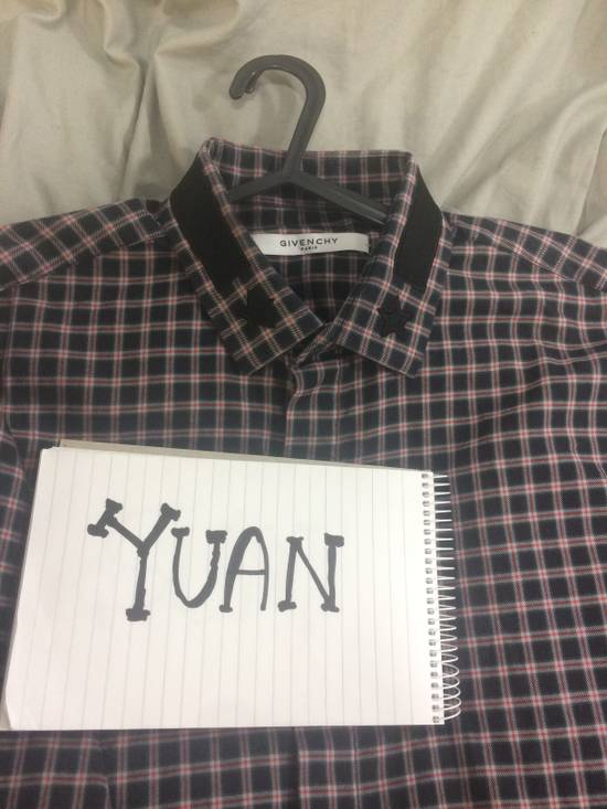 Givenchy Givenchy Checkered Shirt Size US M / EU 48-50 / 2 - 1