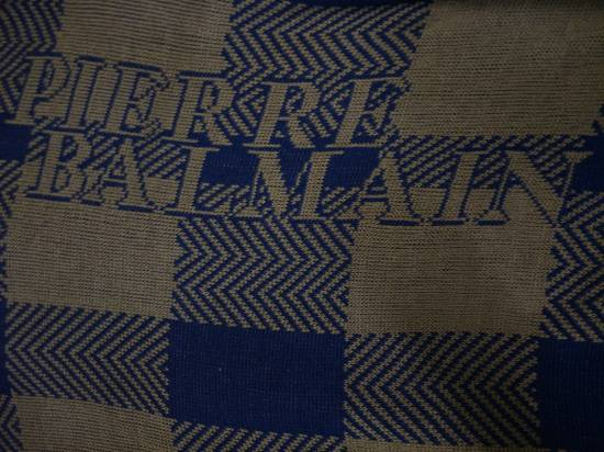 Balmain Pierre Balmain Paris Knitwear Spellout Vintage Size US L / EU 52-54 / 3 - 3