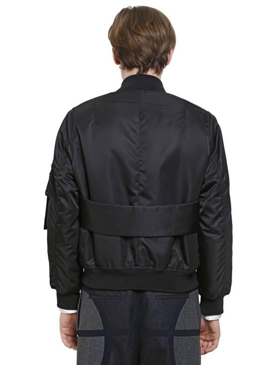 Givenchy Givenchy Black Banded Rottweiler Nylon Shell Bomber Jacket 2014 size 48 (M) Size US M / EU 48-50 / 2 - 4