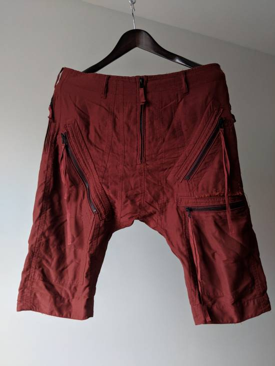 Julius Dark red Sample Shorts Size US 33