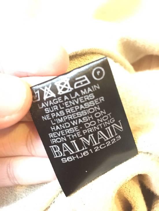 Balmain Balmain Beige Logo Hoodie Size US XS / EU 42 / 0 - 3