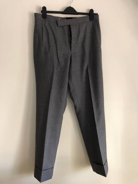 Thom Browne Thom Browne SS17 Cropped Wool Trousers - TB 2 Size US 32 / EU 48