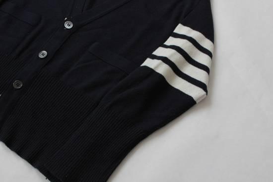 Thom Browne Navy Cashmere Classic 4 Bar Cardigan Size US S / EU 44-46 / 1 - 2