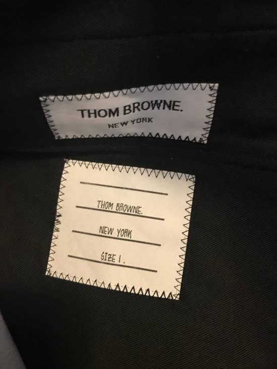 Thom Browne Thom Browne SS13 Navy Canvas Shorts Suit With Anchors (size 0 Blazer, Size 1 Shorts) Size 34S - 10