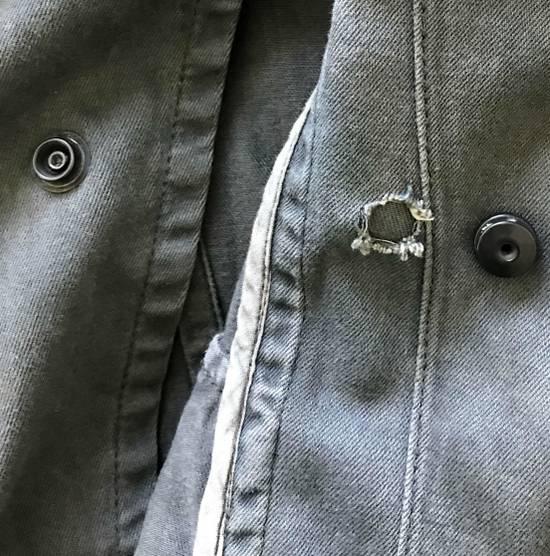 Julius Waxed distressed denim jacket Size US S / EU 44-46 / 1 - 8