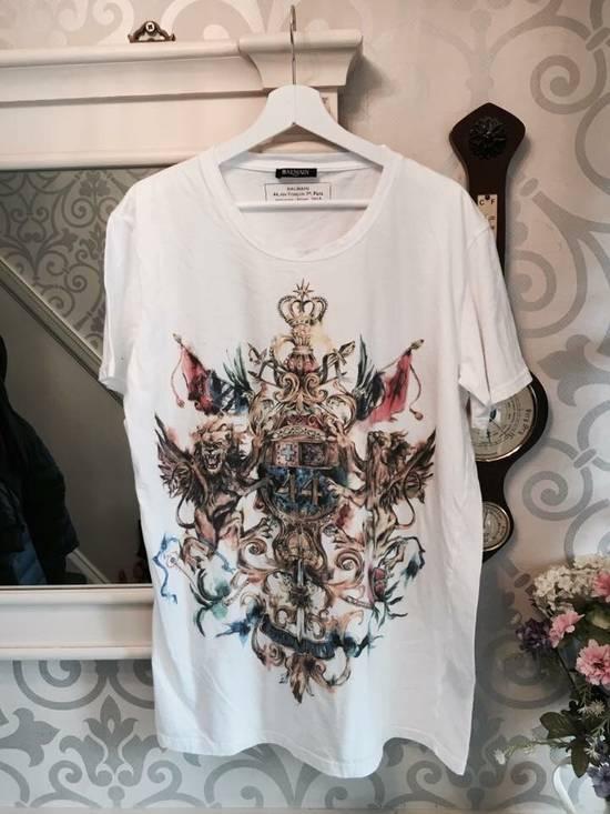 Balmain Multicolour Painted Crest Size US XL / EU 56 / 4