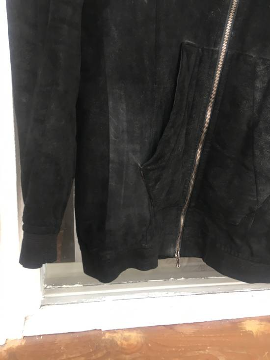 Julius Julius leather hood jacket Size US M / EU 48-50 / 2 - 4