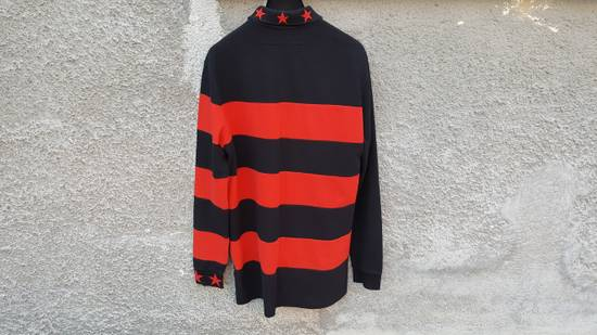 Givenchy Givenchy Striped Star Embroidered Rottweiler Oversized Polo Shirt size M (L / XL) Size US M / EU 48-50 / 2 - 8