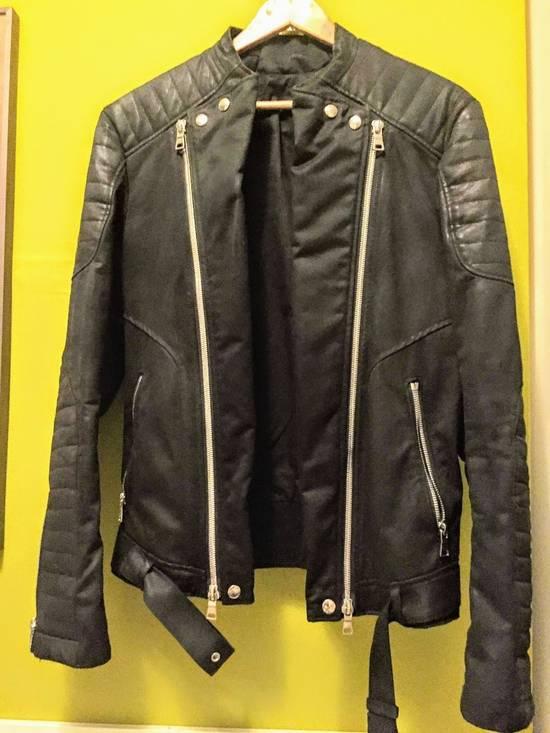 Balmain Balmain Waxed cotton moto jacket Size US M / EU 48-50 / 2