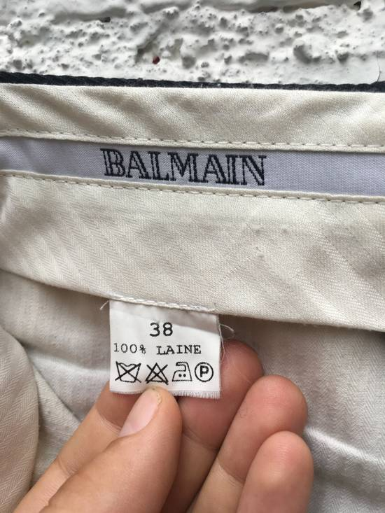 Balmain Black trousers Size 38R - 3