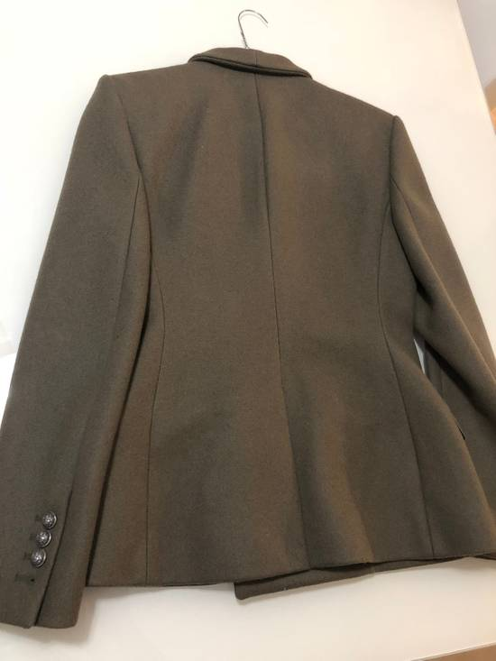 Balmain Army Double Breasted Blazer Size 46R - 6