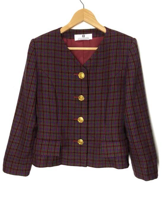 Givenchy Givenchy Multicolor Checked Blazer Jacket Size US S / EU 44-46 / 1