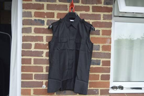 Givenchy Silk Blend Military Sleeveless Shirt Size US S / EU 44-46 / 1
