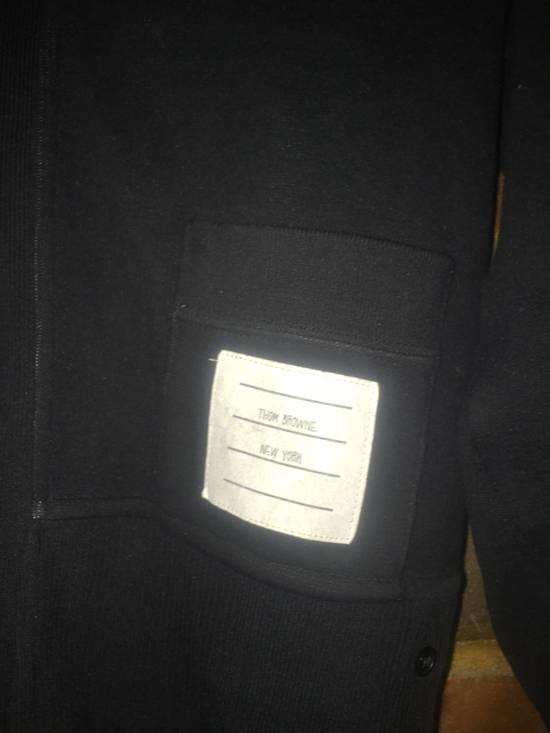 Thom Browne Black Shawl Collar with Grogain & RWB detail Size US S / EU 44-46 / 1 - 2