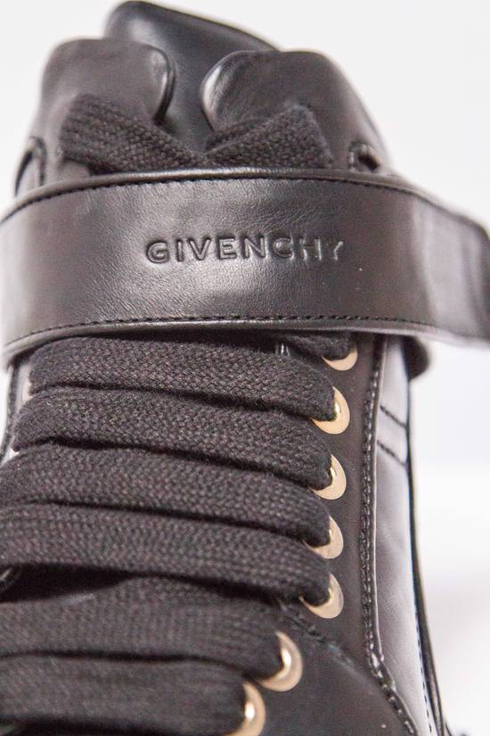 Givenchy BNIB DS Givenchy Black Leather Velcro-strap mid-top Size US 9.5 / EU 42-43 - 3