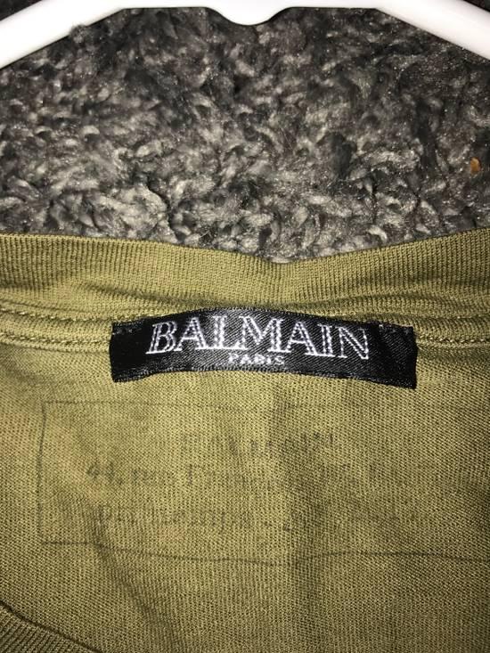 Balmain Olive Green Balmain T-Shirt Size US S / EU 44-46 / 1 - 3