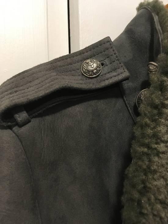 Balmain Shearling Military Coat Size US S / EU 44-46 / 1 - 4