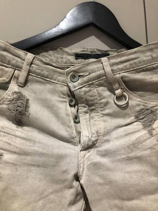 Julius Distressed Grey Jeans Size 1 Size US 28 / EU 44 - 4