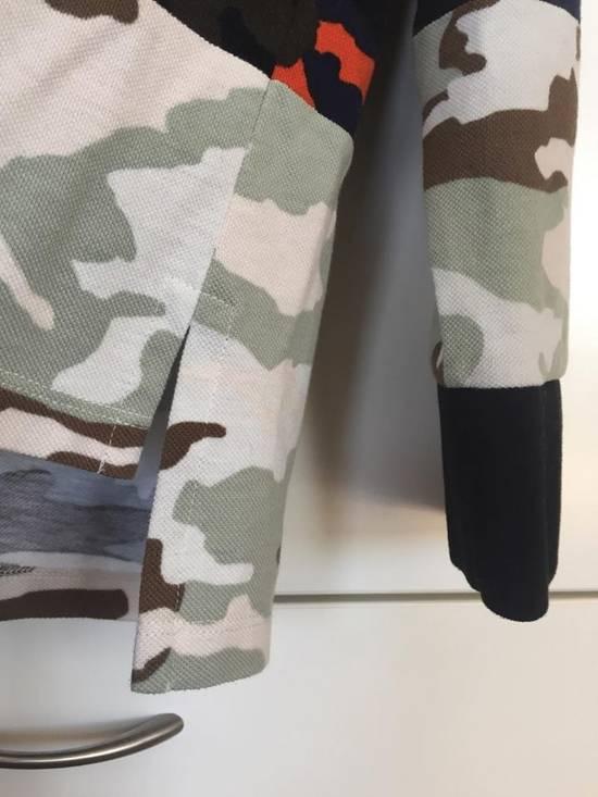 Givenchy Camo Long Sleeve Polo Size US S / EU 44-46 / 1 - 4