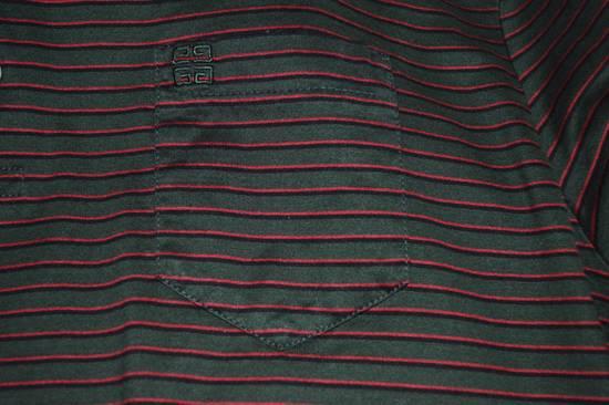 Givenchy Striped Quarter Button-Up Polo Size US XS / EU 42 / 0 - 3