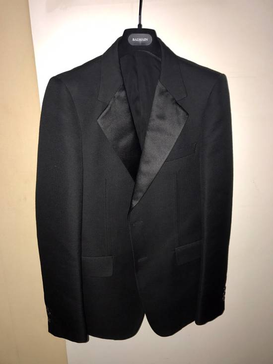 Balmain 3500$ Tuxedo Jacket Size 50R - 3