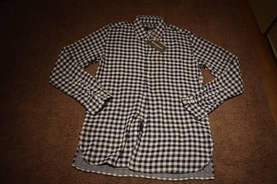 Balmain Balmain Paris $670 Authentic Men's Checkered Shirt Size 39 Brand New Size US L / EU 52-54 / 3