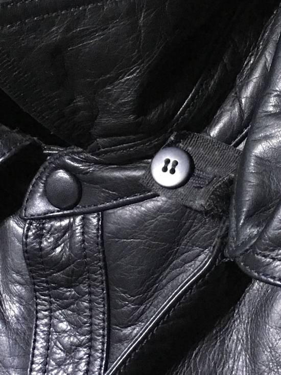 Givenchy FW09 LEATHER HOODED JACKET Size US S / EU 44-46 / 1 - 3