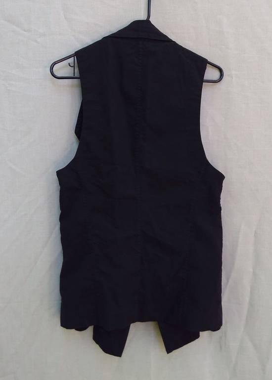 Julius Black Poplin Vest ss13 Size US M / EU 48-50 / 2 - 2