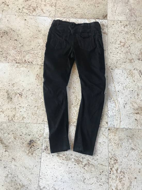 Julius 2-3-4 / SS17 Black Knee Cut Out Denim Size US 32 / EU 48 - 1