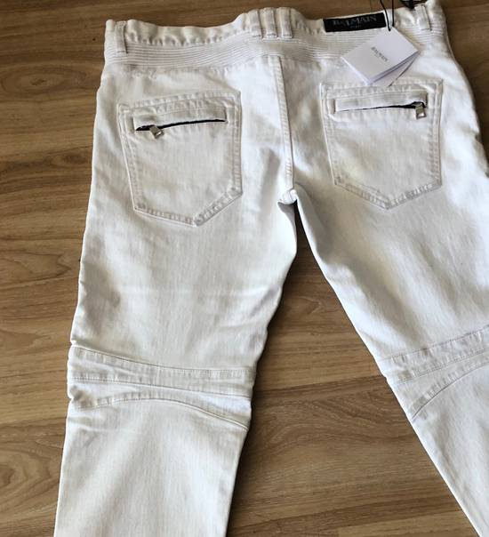 Balmain NWT, THE BEST! Biker Jeans (WAS $1650) - RUNS SMALLER Size US 36 / EU 52 - 8