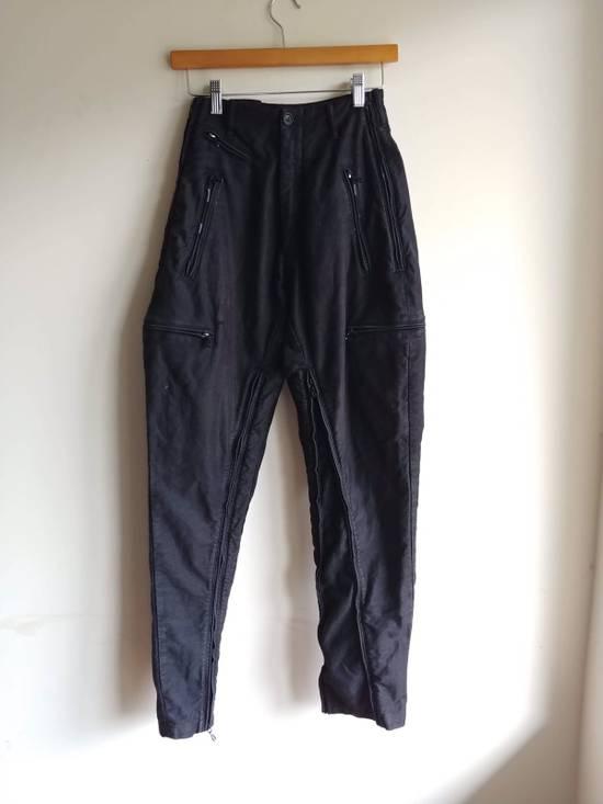 """Julius (Fits 28-32) FW13/14 """"Crack:"""" Zip Pants Size US 30 / EU 46 - 1"""