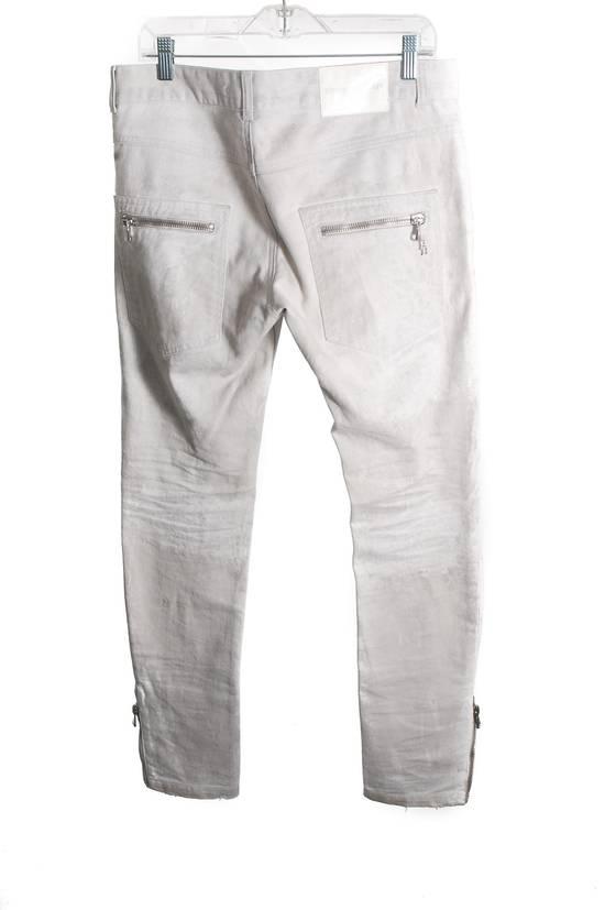 Balmain Balmain White Denim Jeans Size US 34 / EU 50 - 1
