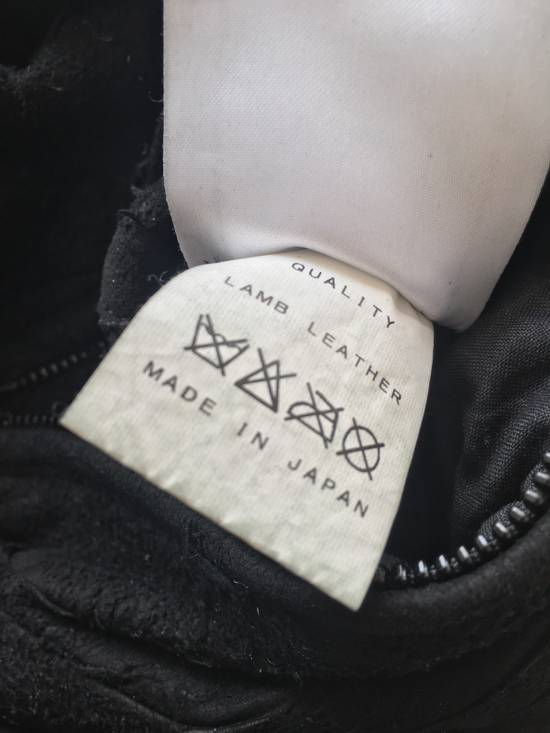 Julius $2200 Lamb Leather Blistered And Reversed Moto Jacket Made In Japan In Mint Condition Size US M / EU 48-50 / 2 - 12