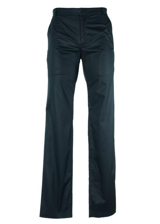 Givenchy Givenchy Men's Classic Black 100% Cotton Trousers Size US 32 / EU 48