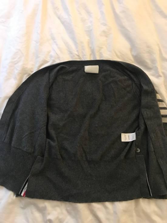 Thom Browne Classic grey cashmere cardigan Size US XXL / EU 58 / 5 - 2