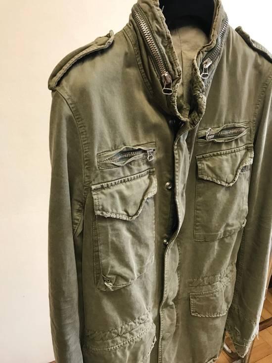 Balmain Decarnin Destroyed Saharian Jacket Size US M / EU 48-50 / 2 - 1