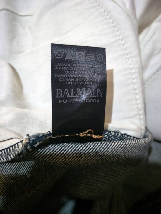 Balmain Vintage Balmain Paris Biker Blue Jeans Like New Size US 31 - 7