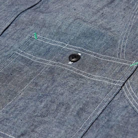 Nigel Cabourn chambray medical shirt Size US L / EU 52-54 / 3 - 8