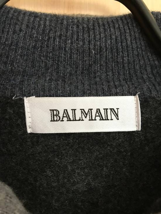 Balmain Vintage Balmain Lambswool Sweater Striped Warm Retro Size US M / EU 48-50 / 2 - 2