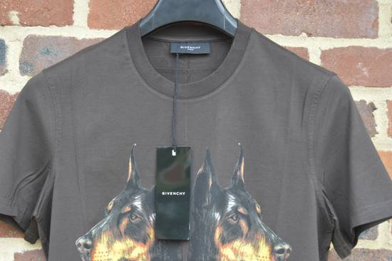 Givenchy Brown Doberman Print T-shirt Size US S / EU 44-46 / 1 - 3
