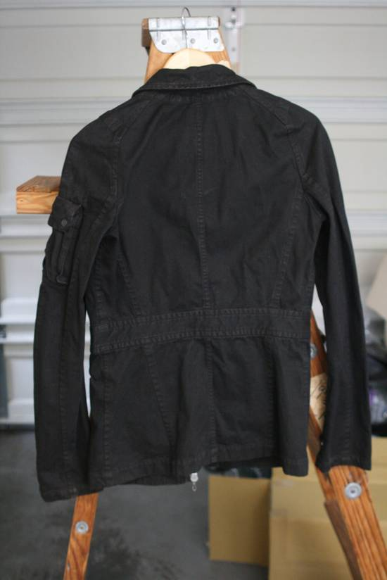Julius Coated Black Gasmask Cargo Jacket Size US S / EU 44-46 / 1 - 6