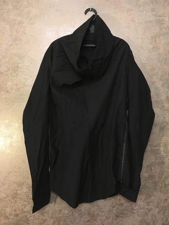 Julius SS14 high collar shirt (BLACK) Size US S / EU 44-46 / 1 - 5