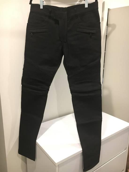 Balmain Black Biker Jeans NWT Size US 32 / EU 48