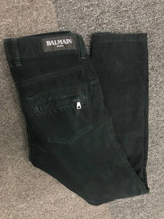 Balmain Corduroy Biker Pants Size US 28 / EU 44 - 2