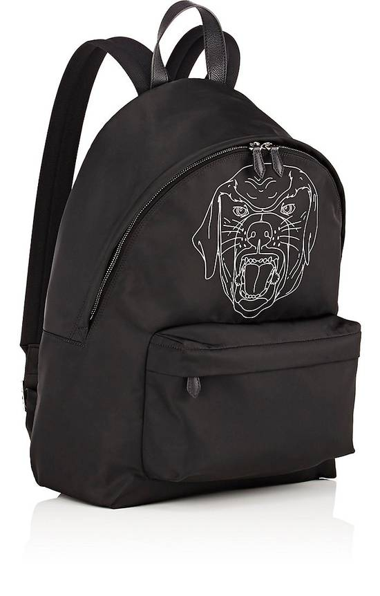 Givenchy Givenchy Stenciled-Rottweiler Classic Backpack Size ONE SIZE - 1