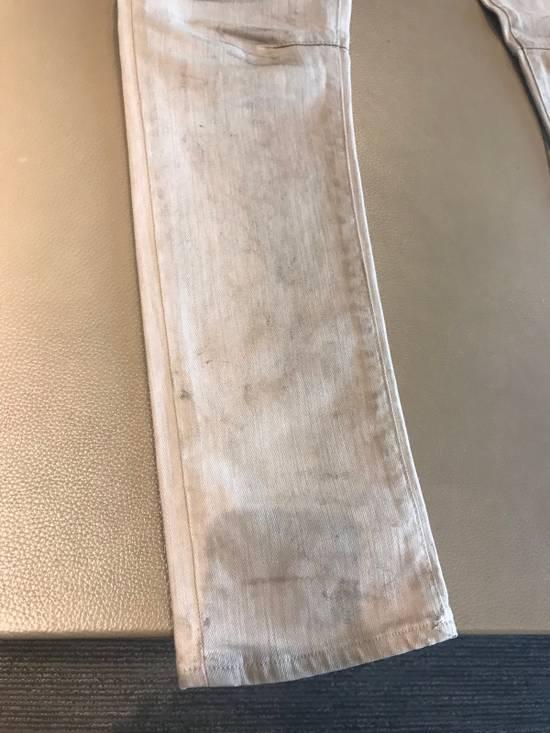 "Balmain FW11 Decarnin ""Dirty"" Skinny Jeans (dirty white/tan Color) Size US 30 / EU 46 - 3"