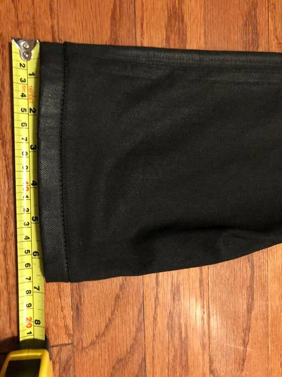 Balmain Black Coated Biker Jeans Size US 34 / EU 50 - 4