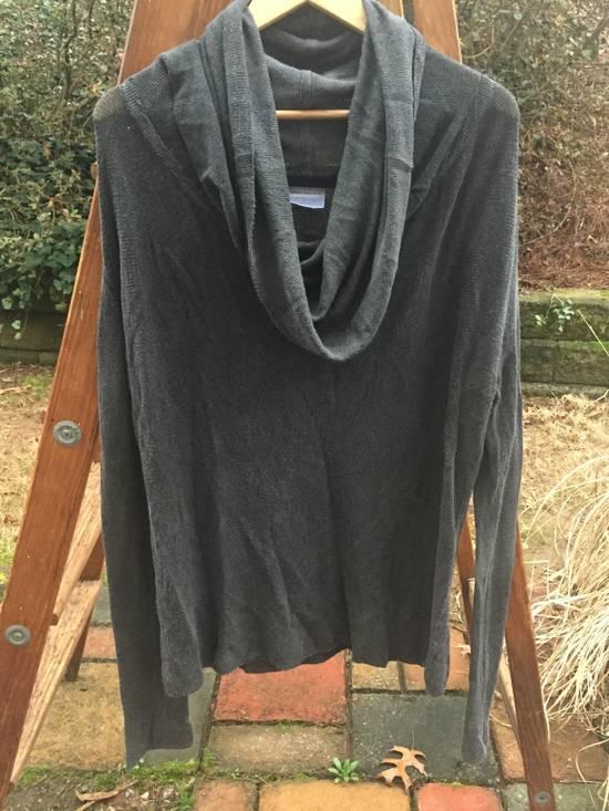 Julius SS08 Grey Yarn Cowl Neck Knit Sweater Size US M / EU 48-50 / 2