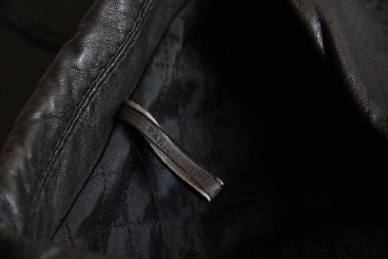Dior AW05 Dior Homme 'L-Zip' Leather Motorcycle Biker Jacket Sz 50 Size US M / EU 48-50 / 2 - 6